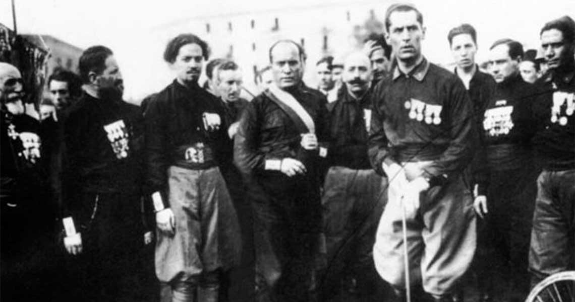 Megtalálták az olasz fasiszta párt gyűjteményét