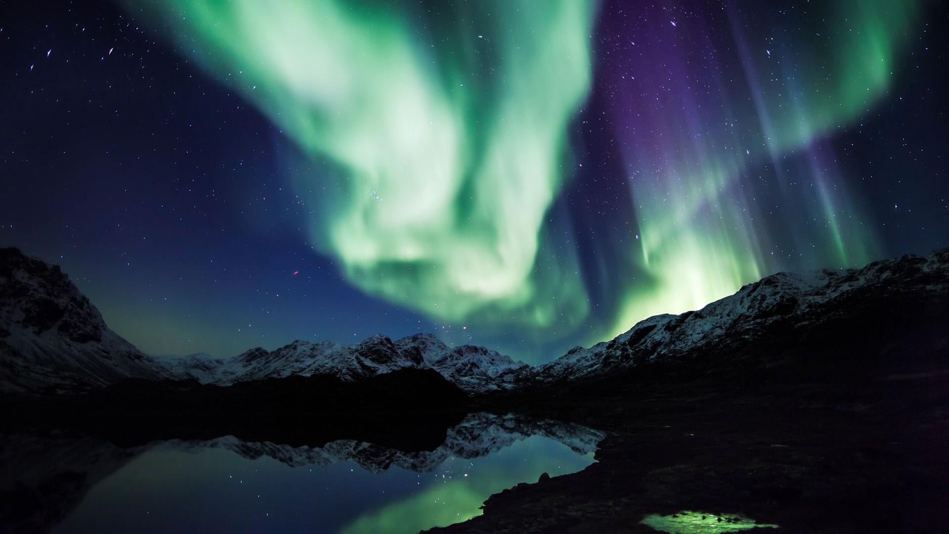 A táncoló fényeket az elektronok esője okozza