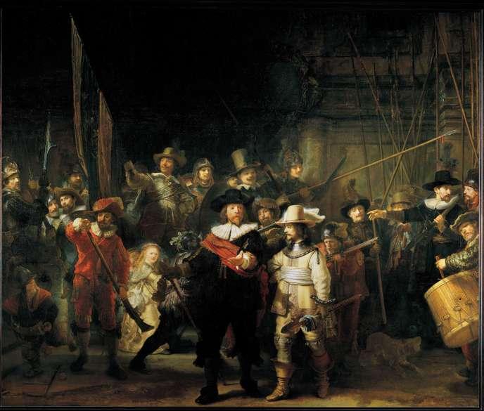 A Rijksmuseum rekonstruálta Rembrandt Éjjeli őrjáratának eredetijét