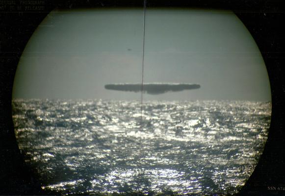 UFÓ-kat fényképezett egy amerikai tengeralattjáró?