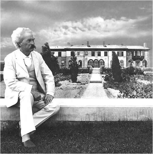 Eladják Stormfieldet, Mark Twain házát