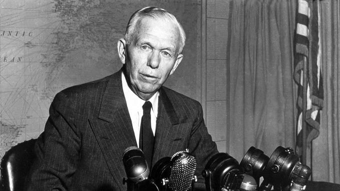 A Marshall-terv 70 éve