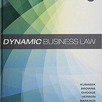 Dynamic Business Law Books Pdf File