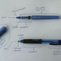A toll részei