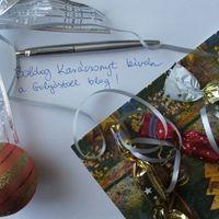 Boldog Karácsonyt kíván a Golyóstoll blog!