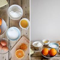 Narancsos kuglóf cukorsziruppal