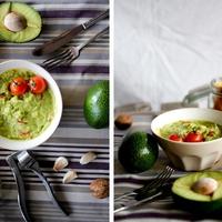 avokádókrém és házi tortilla
