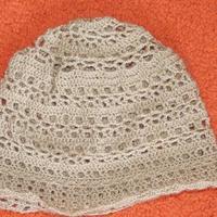 Horgolt kalap leírása