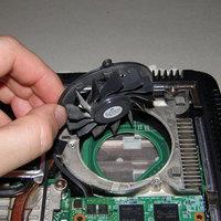 A laptop videokártya hűtése