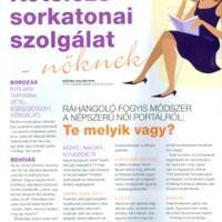 MUSZÁJ ELMESÉLNEM!: A fogyókúrás posztom megjelent a Diéta&Fitnesz magazin novemberi számában