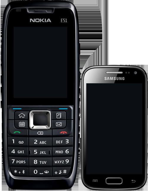 Randevú mobiltelefonok