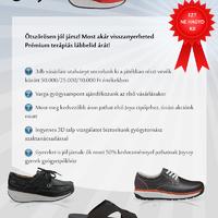 Nyerd vissza a cipőd árát!