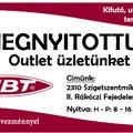 MBT Outlet nyílt