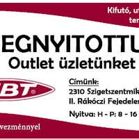 MBT Outlet nyílt
