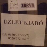 Bezárt a NuBalance Szegeden