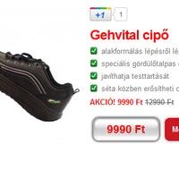 Frissült az olcsó gördülő talpú cipők listája
