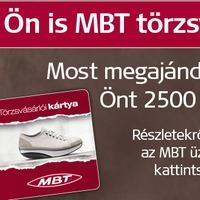 MBT törzsvásárlói kártya