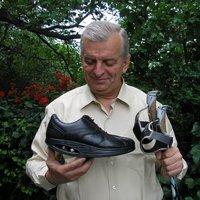 A nordic walking világbajnokság egyetlen magyar férfi résztvevője Bisztrai György is RYN-ben