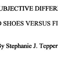 Élettani és szubjektív különbségek a lapos- és gördülő talpú cipők között