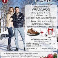 Swarovski kristály ékszer ajándék minden DrShoes vásárlónknak