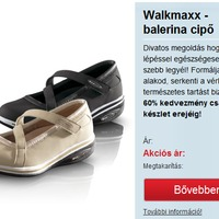 Walkmaxx balerinacipő