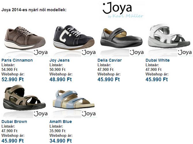 2014 Joya modellek - Gördülő cipő ea9b7fcce1