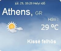 görögország napi időjárás előrejelzés aktuális