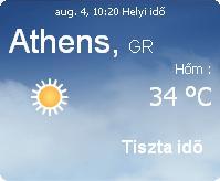2010 előrejelzés görögországi görögország időjárás információ napi vihar idő eső bora