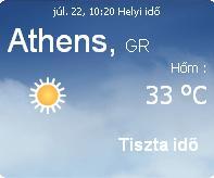 görögország 2010 előrejelzés időjárás