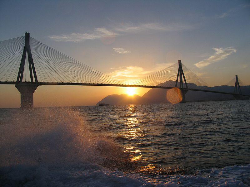 riou antirio híd harilaos trikoupis bridge  görögország görögországi információ infó infók hasznos érdekesség érdekes