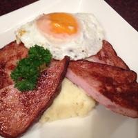Leberkase nach bayerische Art / Bavarian Style Pork Meat Loaf