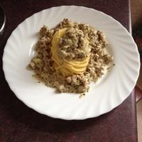 Húsos Spagetti
