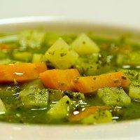 Rusztikus nyári zöldségleves