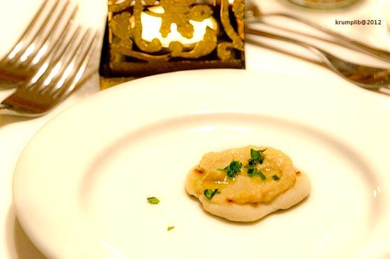 Wasabis humusz - kép: Krumpli Béla