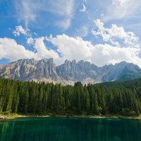 Fénygyöngyök az Alpok varázslatában - Lago di Carezza