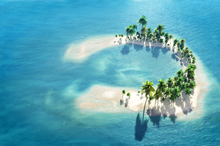 Sztár szigetek és exklúzív nyaralók - Privát napfény a magánstrandon