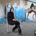 Az afgán graffiti művész