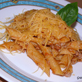 Penne alla Bolognese Cheddarral