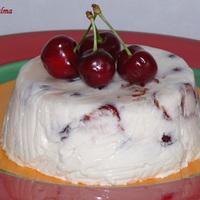 Cseresznyés joghurt-tortácska
