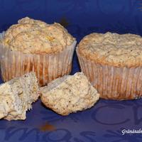 Muffin mákkal és mandarinnal