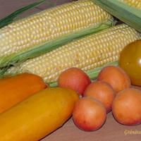 A hét színe a piacon: sárga