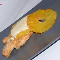 Csirkemellfilé ananásszal