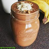 Csokis- mogyorós smoothie