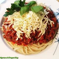 Vegán Spagetti Bolognese