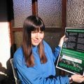 Ann Novek, a Greenpeace cyberaktivistája