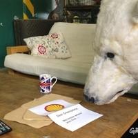 """""""Kedves Greenpeace, tudjuk, merre laktok…!"""" - fenyegető üzenet a Shelltől"""