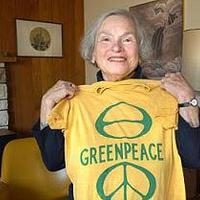 Eltávozott Dorothy Stowe a Greenpeace nagymamája