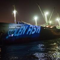 Illegális tonhalszállítással gyanúsított hajó Tajvan kikötőjében