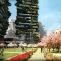 10000 nm erdő települ Milánó belvárosába - függőlegesen