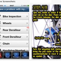 Kerékpárjavító mobilalkalmazás - Megoldás az 50 leggyakoribb problémára